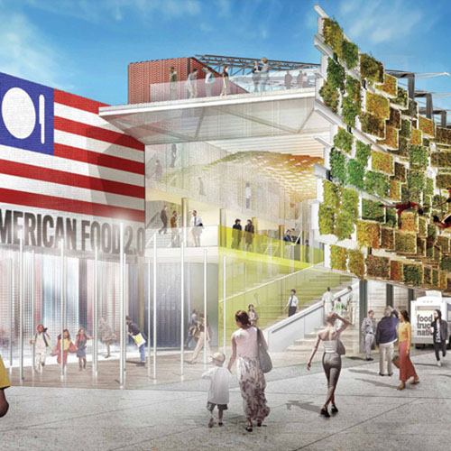 Biber Architects / USA Pavilion at Expo Milano 2015